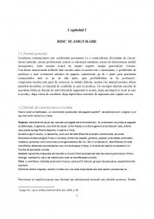 Țipuri de riscuri și acoperirea acestora prin intermediul asigurărilor - Pagina 3