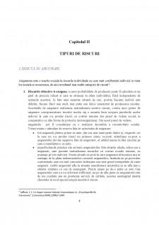 Țipuri de riscuri și acoperirea acestora prin intermediul asigurărilor - Pagina 5