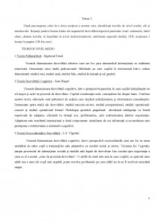 Psihologia Dezvoltării - Pagina 2