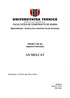 Ax melcat - Pagina 1