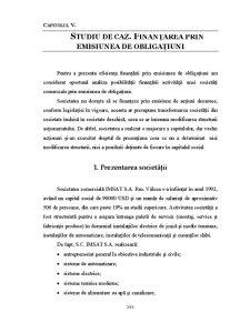 Finanțarea prin Emisiunea de Obligațiuni - Pagina 1