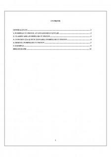 Studiul pompelor cu pistoane pentru foraj - Pagina 2