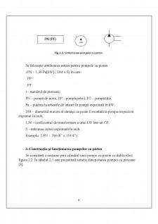 Studiul pompelor cu pistoane pentru foraj - Pagina 5