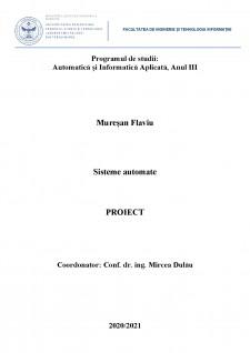 Proiectarea unui sistem de reglare automată a turației unui motor de curent continuu (MCC) utilizând regulatoare convenționale (PID) - Pagina 1