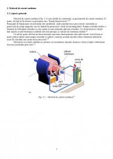 Proiectarea unui sistem de reglare automată a turației unui motor de curent continuu (MCC) utilizând regulatoare convenționale (PID) - Pagina 5