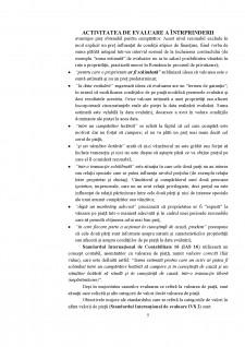 Activitatea de evaluare a întrprinderii - Pagina 5