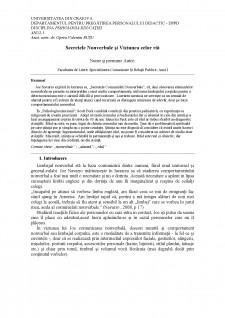 Secretele nonverbale și viziunea celor răi - Pagina 1