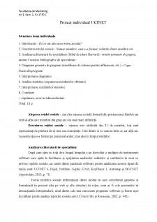 Proiect individual UCINET - Pagina 1