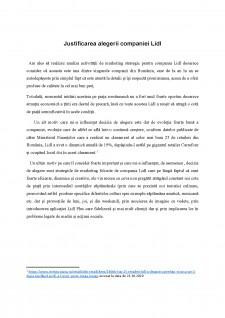 Analiza activității de marketing strategic pentru compania LIDL - Pagina 3