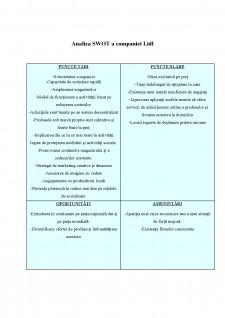 Analiza activității de marketing strategic pentru compania LIDL - Pagina 5
