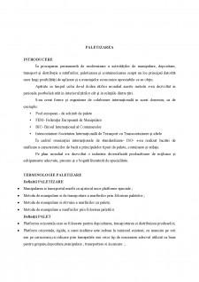 Paletizarea - Pagina 1