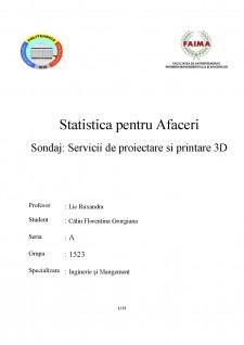 Servicii de proiectare și printare 3D - Pagina 1