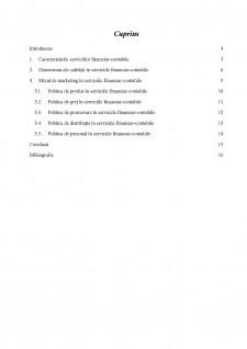 Mixul de marketing în serviciile financiar-contabile - Pagina 3