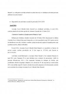Activitatea social-filantropica din cadrul Centrului socio-cultural Episcopul Damaschin - Slobozia - Pagina 2