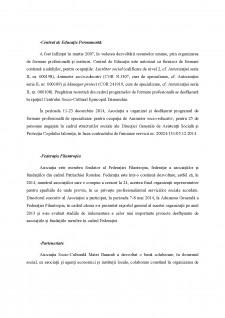 Activitatea social-filantropica din cadrul Centrului socio-cultural Episcopul Damaschin - Slobozia - Pagina 3