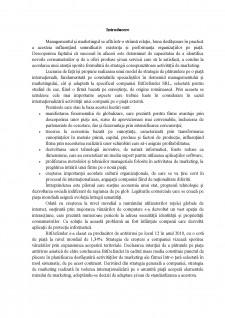 Strategia de pătrundere pe o piață internațională în cadrul Bitdefender SRL - Pagina 3