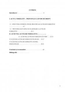Acțiunea actelor normative în timp, spațiu și asupra persoanelor - Pagina 2
