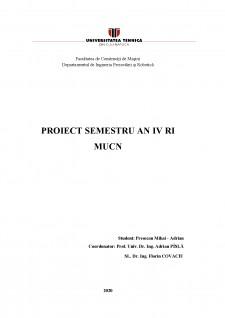 Comanda și programarea mașinilor unelte cu comandă numerică - Pagina 1