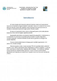Biodiversitatea pădurilor tropicale umede - Pagina 2