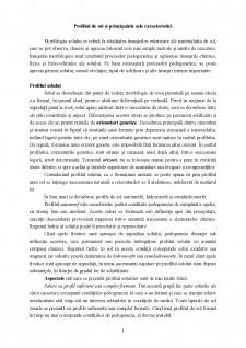 Profilul de sol și principalele sale caracteristici - Pagina 1