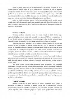 Profilul de sol și principalele sale caracteristici - Pagina 2