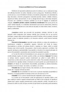 Profilul de sol și principalele sale caracteristici - Pagina 4
