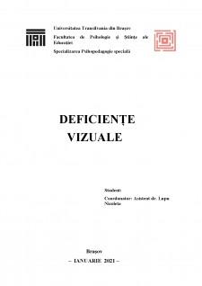 Deficiențe vizuale - Pagina 1
