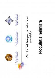 Circuite neliniare pentru prelucrarea semnalelor - Pagina 1