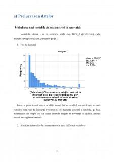 Studiu privind comportamentul de viață, cumpărare și consum - Pagina 3