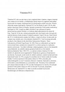 Vitamina B12 - Pagina 1