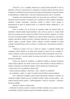 Evaluarea studenților de către profesori-proceduri - Pagina 2