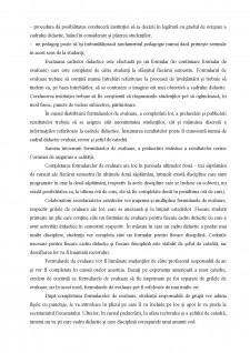 Evaluarea studenților de către profesori-proceduri - Pagina 4