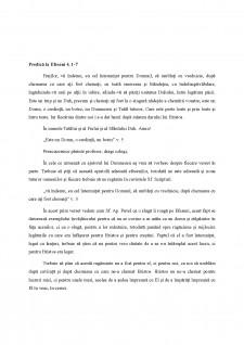 Predică la Efeseni 4,1-7 - Pagina 1