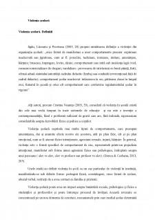 Violența școlară și formele ei - Pagina 2