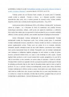 Violența școlară și formele ei - Pagina 3