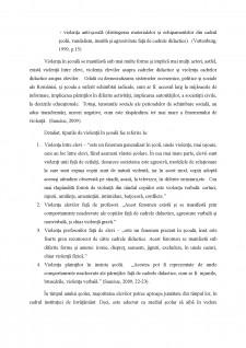 Violența școlară și formele ei - Pagina 5