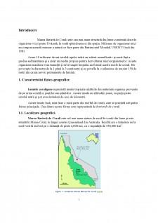 Biodiversitatea insulelor coraligene - Marea Barieră de Corali - Pagina 3