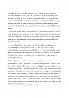 Managementul clasei de elevi - Influențe ale ergonomiei școlare - Pagina 3