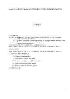 Diagnosticarea motorului cu aprindere prin scânteie - Pagina 1
