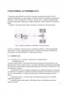 Testarea și diagnosticarea sistemului de transmisie al automobilului - Pagina 3