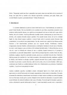Considerații asupra rolul abuzului copilului în familie în evoluția sa către delincvență - Pagina 3