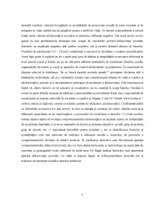 Considerații asupra rolul abuzului copilului în familie în evoluția sa către delincvență - Pagina 4
