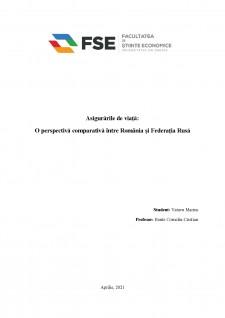 Asigurări de viată - O perspectivă comparativă între România și Federația Rusă - Pagina 1