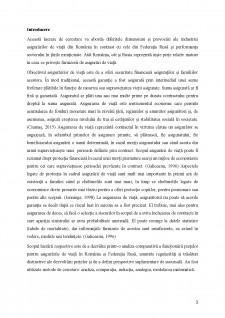 Asigurări de viată - O perspectivă comparativă între România și Federația Rusă - Pagina 3