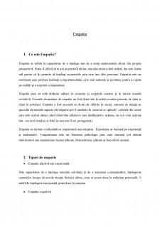 Empatia - Pagina 1