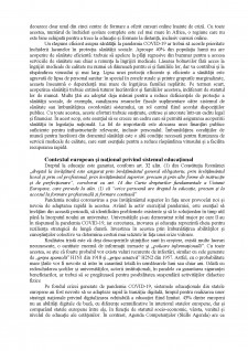 Impactul pandemiei SARS-COV 2 asupra educației și formării profesionale a studenților - Pagina 3
