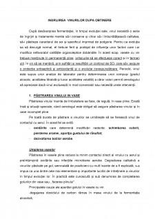 Ingrijirea vinurilor dupa obtinere - Pagina 1