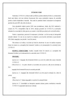 Politici de ocupare în hoteluri și restaurante - Pagina 2