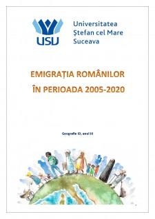 Emigrația românilor în perioada 2005-2020 - Pagina 1