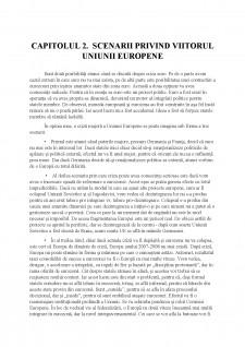Scenarii privind viitorul Uniunii Europene - Pagina 5